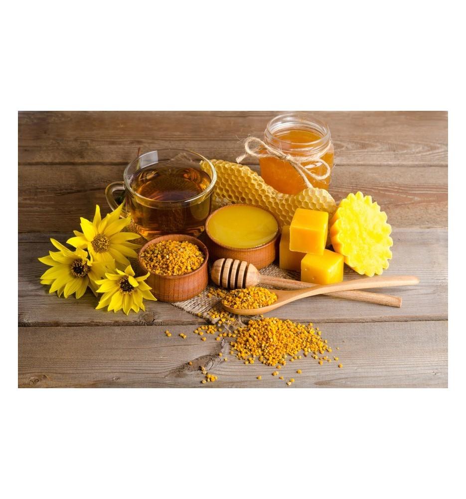 Cire d'abeille jaune BIO