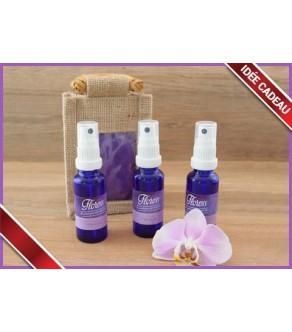 3 sprays d'ambiance 30 ml aux huiles essentielles