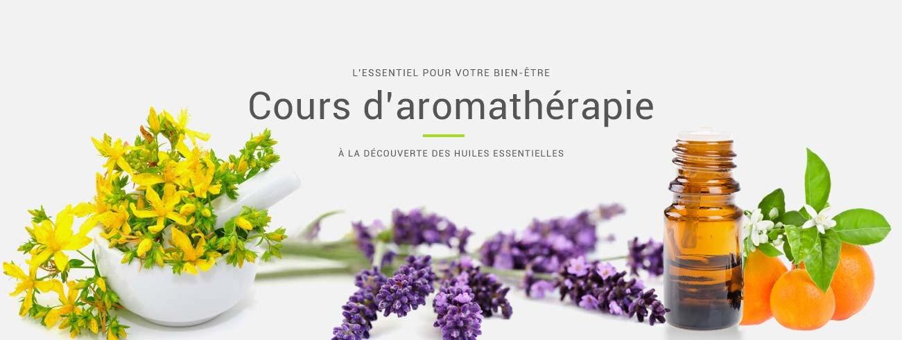 Cours d'aromathérapie